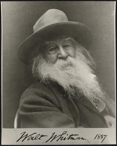 whitman portrait