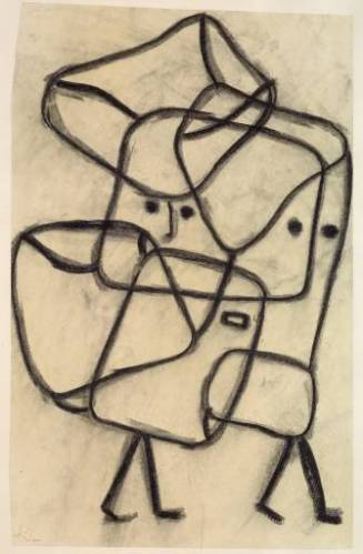 Burdened Children 1930 by Paul Klee 1879-1940